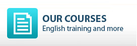 Courses and training programs at the Spoken English Café