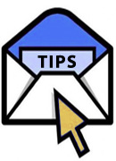 Receive FREE English Tips by Email
